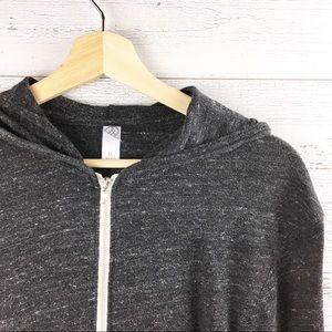 ALTERNATIVE Lightweight Zip Up Hoodie Sweatshirt